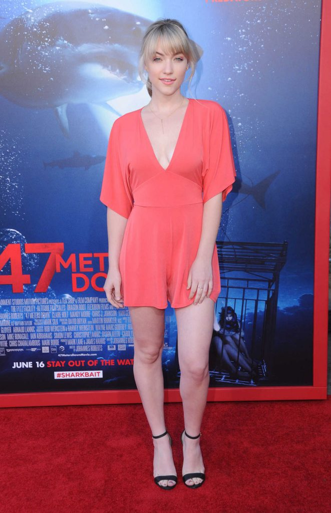 Violett Beane at the 47 Meters Down Premiere in Hollywood 06/12/2017-1