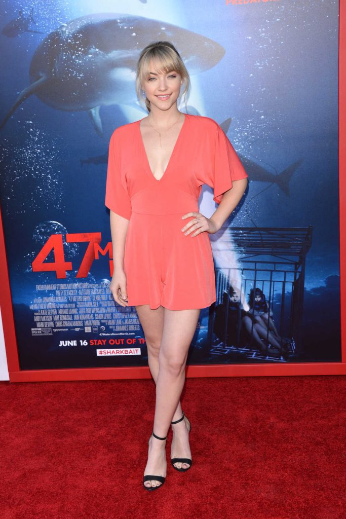 Violett Beane at the 47 Meters Down Premiere in Hollywood 06/12/2017-2
