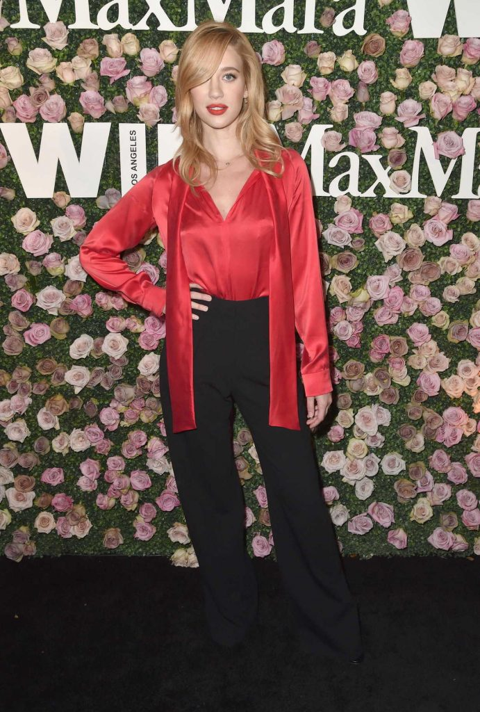 Yael Grobglas at the 2017 Women in Film Max Mara Face of the Future Awards in Los Angeles 06/12/2017-2
