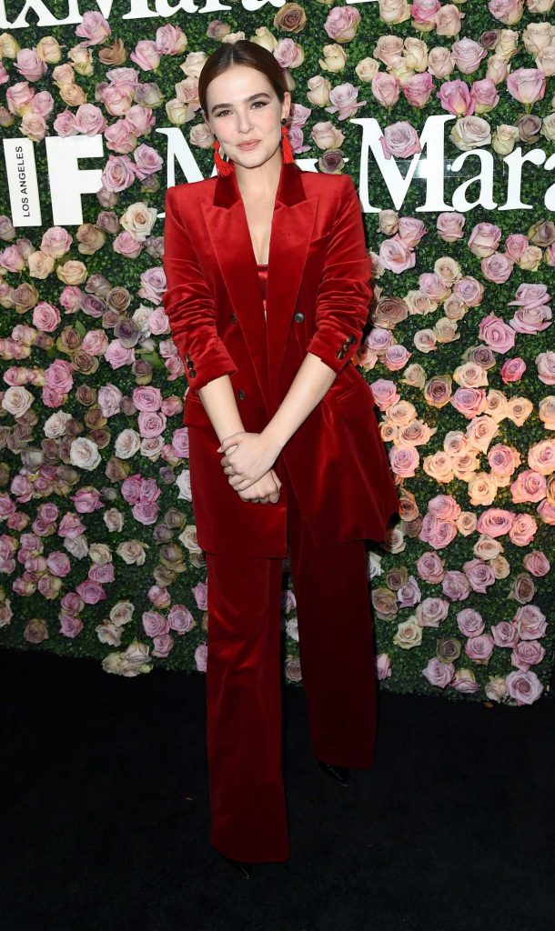 Zoey Deutch at the 2017 Women in Film Max Mara Face of the Future Awards in Los Angeles 06/12/2017-1