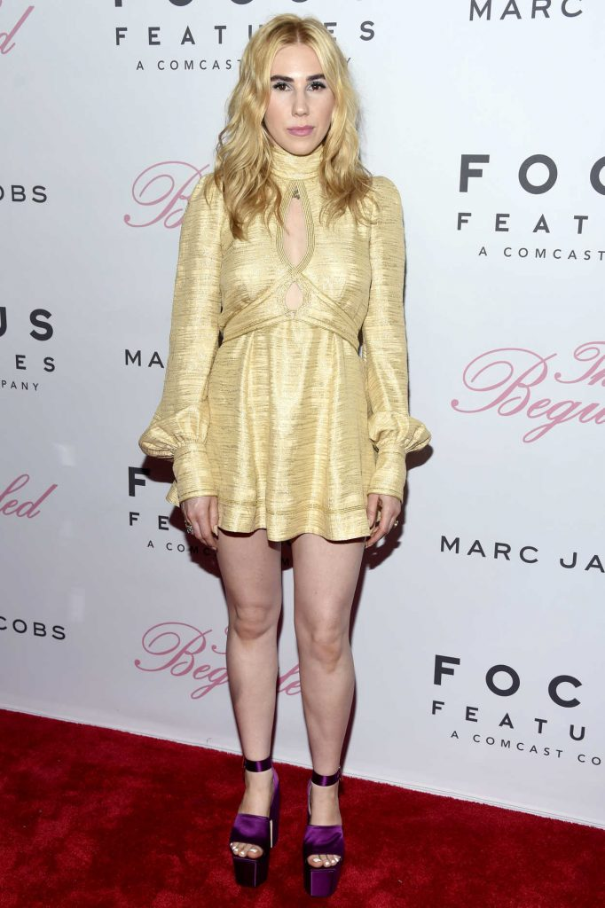 Zosia Mamet at The Beguiled Premiere in New York 06/22/2017-1