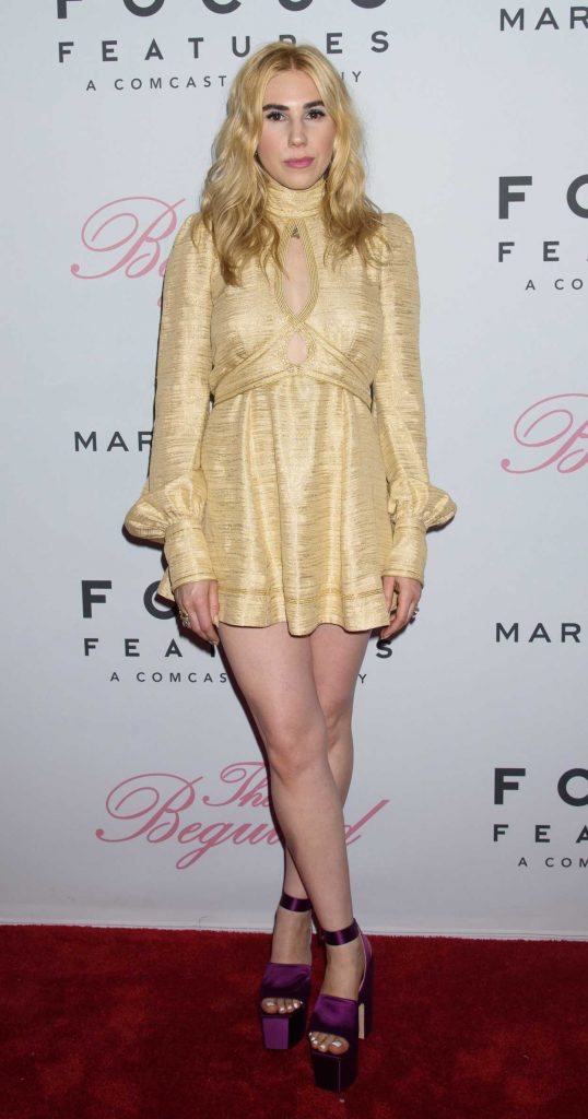 Zosia Mamet at The Beguiled Premiere in New York 06/22/2017-3