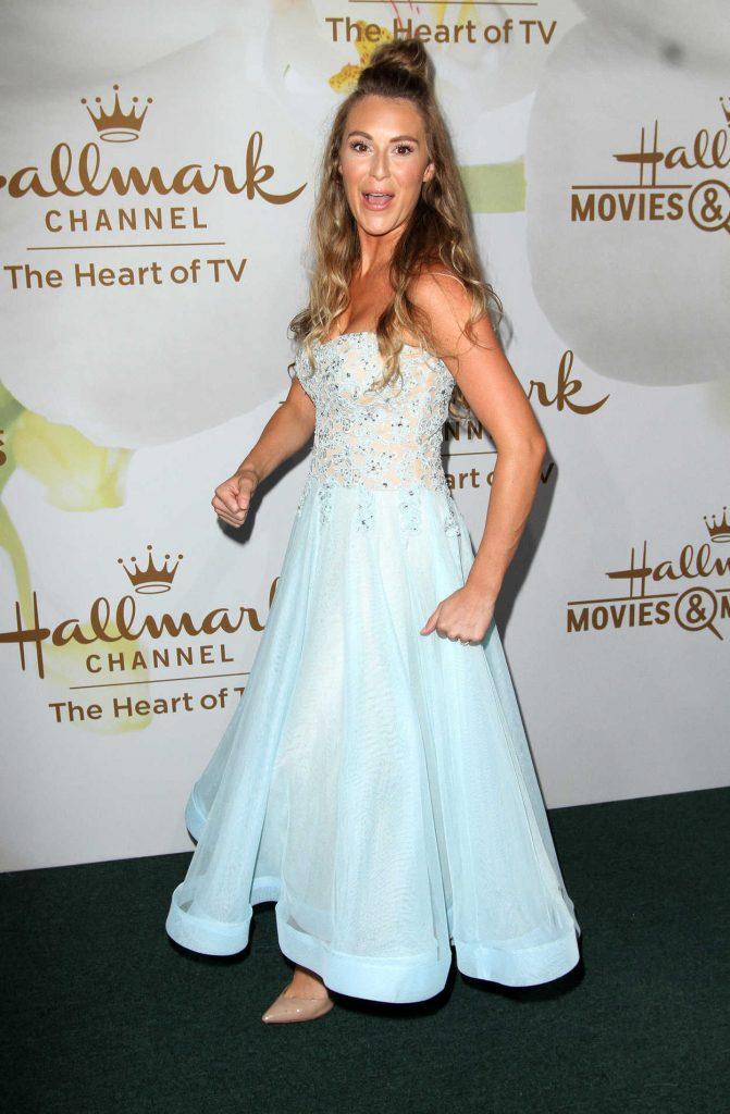 Alexa PenaVega at Hallmark Evening Event During the TCA Summer Press Tour in Los Angeles 07/27/2017-2
