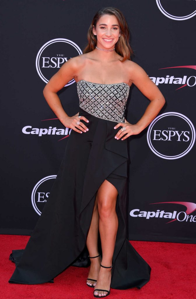 Aly Raisman at the 2017 ESPY Awards in Los Angeles 07/12/2017-1