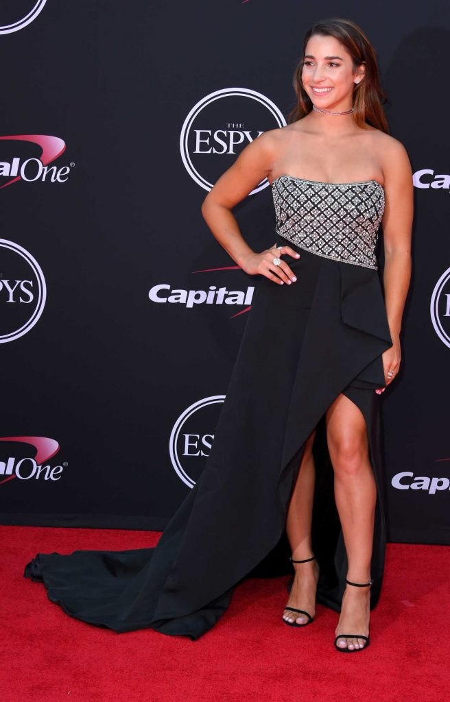 Aly Raisman at the 2017 ESPY Awards in Los Angeles 07/12/2017-2