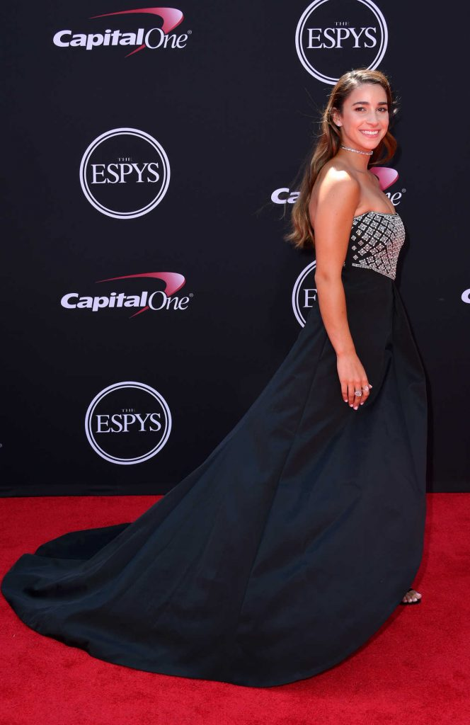 Aly Raisman at the 2017 ESPY Awards in Los Angeles 07/12/2017-4