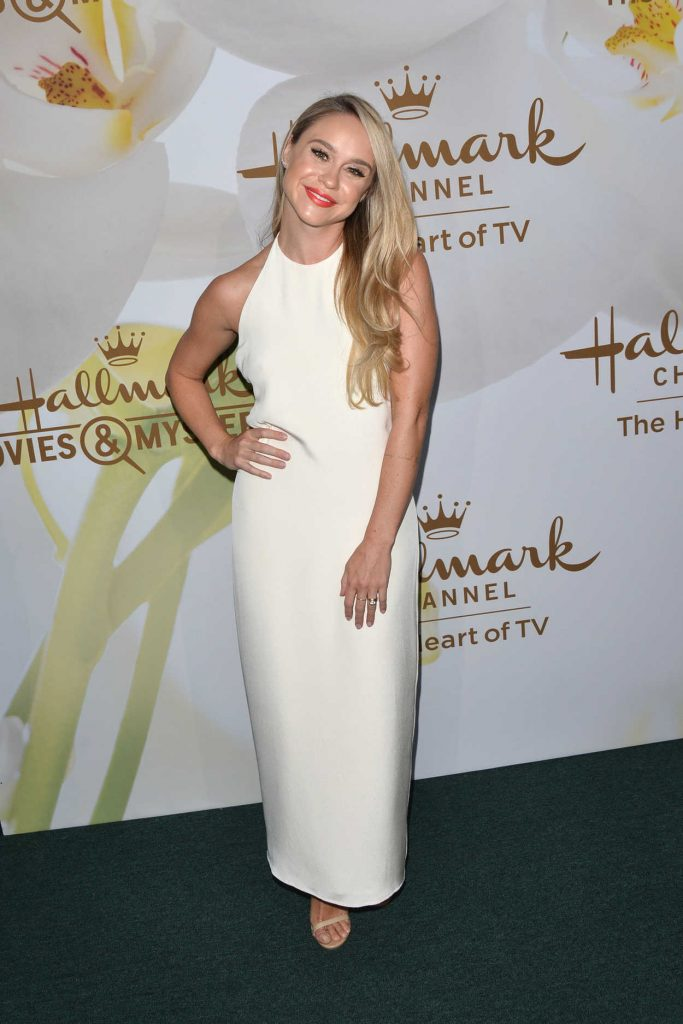 Becca Tobin at Hallmark Evening Event During the TCA Summer Press Tour in Los Angeles 07/27/2017-2