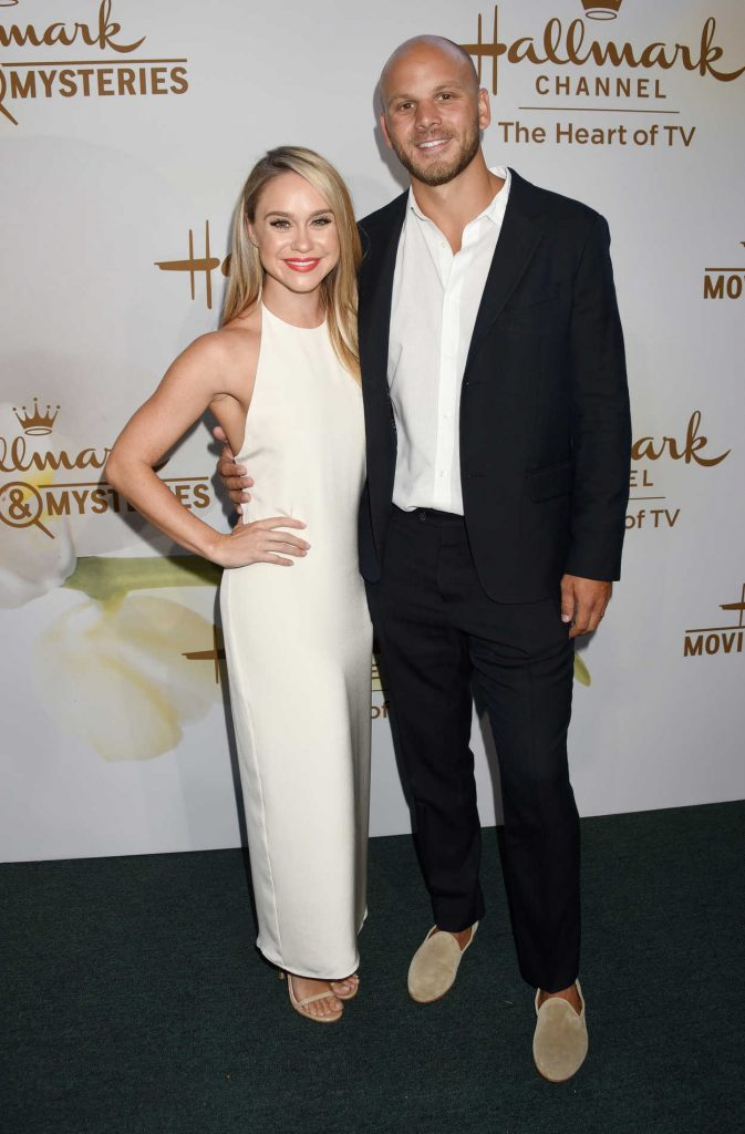 Becca Tobin at Hallmark Evening Event During the TCA Summer Press Tour in Los Angeles 07/27/2017-4