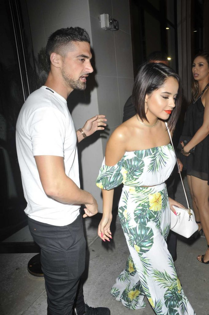 Becky G Leaves Catch Restaurant in Los Angeles 07/29/2017-3