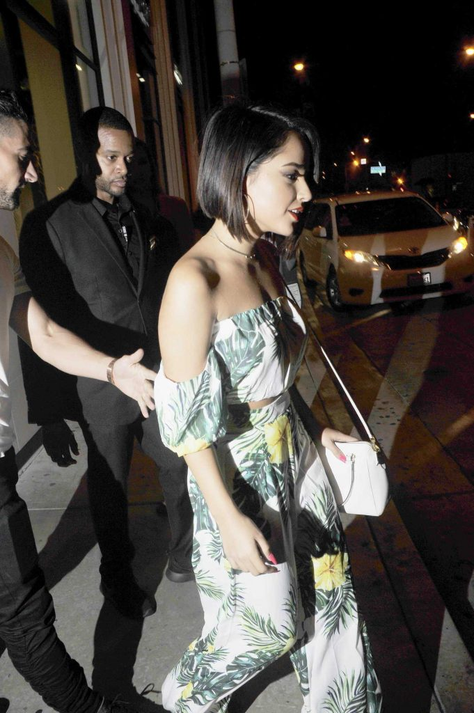 Becky G Leaves Catch Restaurant in Los Angeles 07/29/2017-4