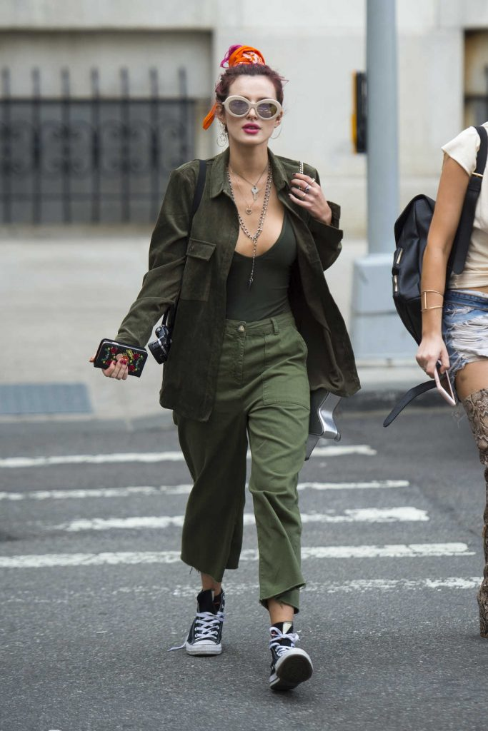 Bella Thorne Was Seen Out in NYC 07/08/2017-1