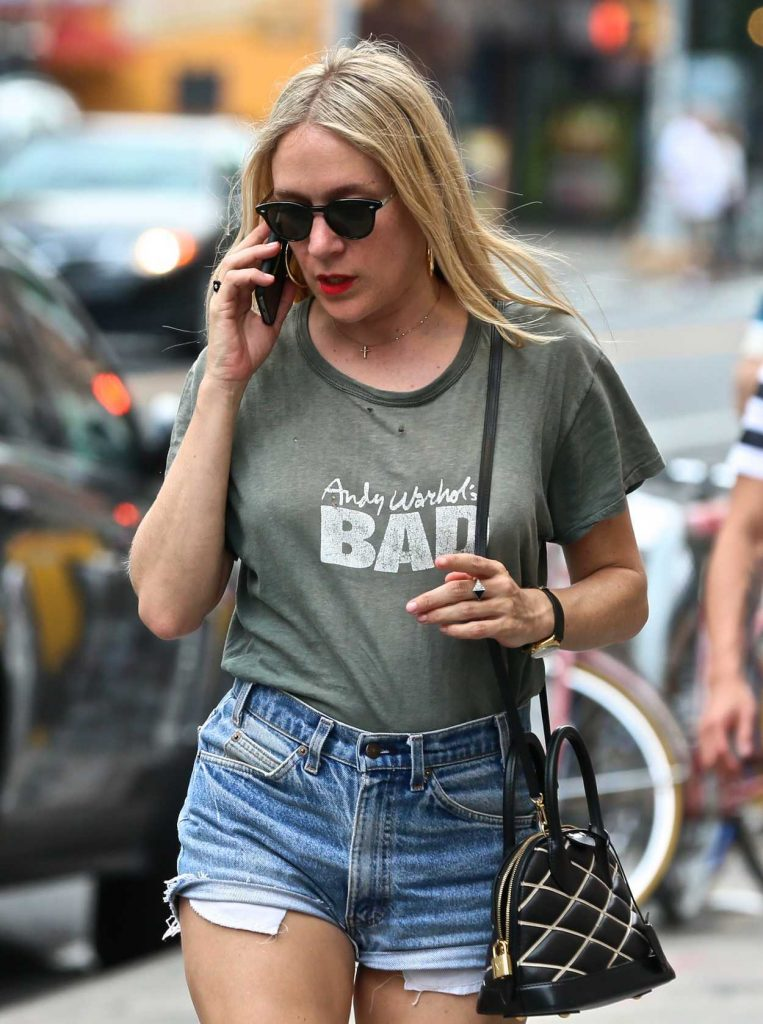 Chloe Sevigny Was Spotted in the East Village in New York City 07/05/2017-4