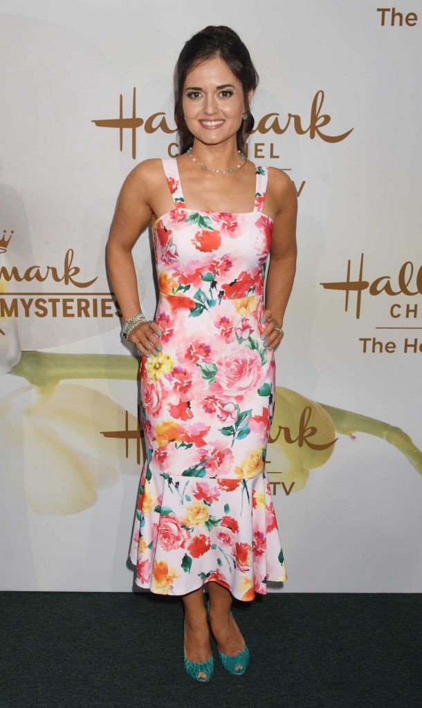 Danica McKellar at Hallmark Evening Event During the TCA Summer Press Tour in Los Angeles 07/27/2017-1