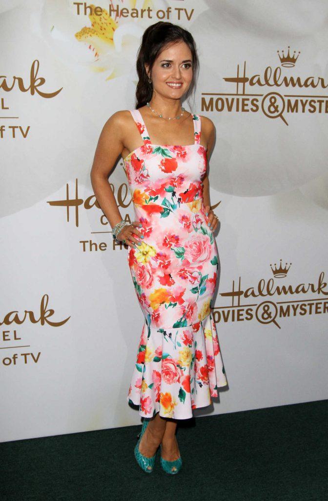 Danica McKellar at Hallmark Evening Event During the TCA Summer Press Tour in Los Angeles 07/27/2017-2