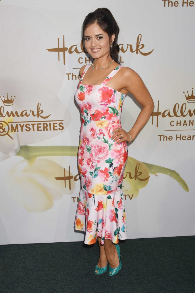 Danica McKellar at Hallmark Evening Event During the TCA Summer Press Tour in Los Angeles 07/27/2017-3