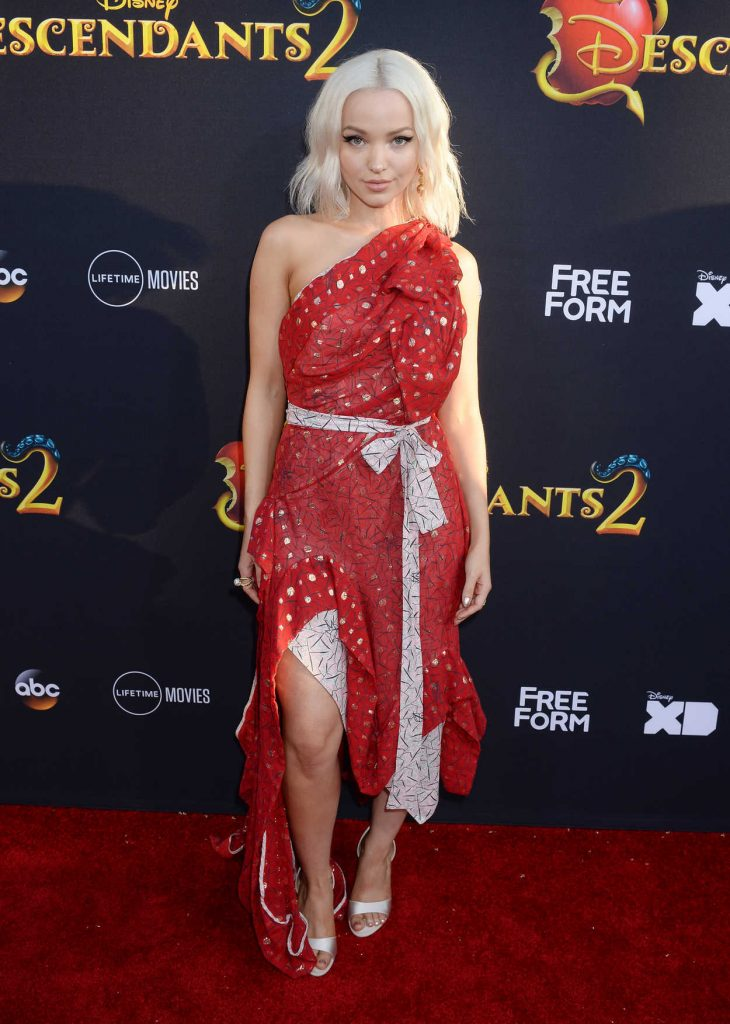Dove Cameron at the Descendants 2 Premiere in Los Angeles 07/11/2017-1