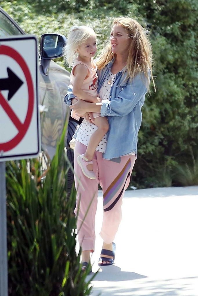 Drew Barrymore Was Seen Out in Los Angeles 07/13/2017-3