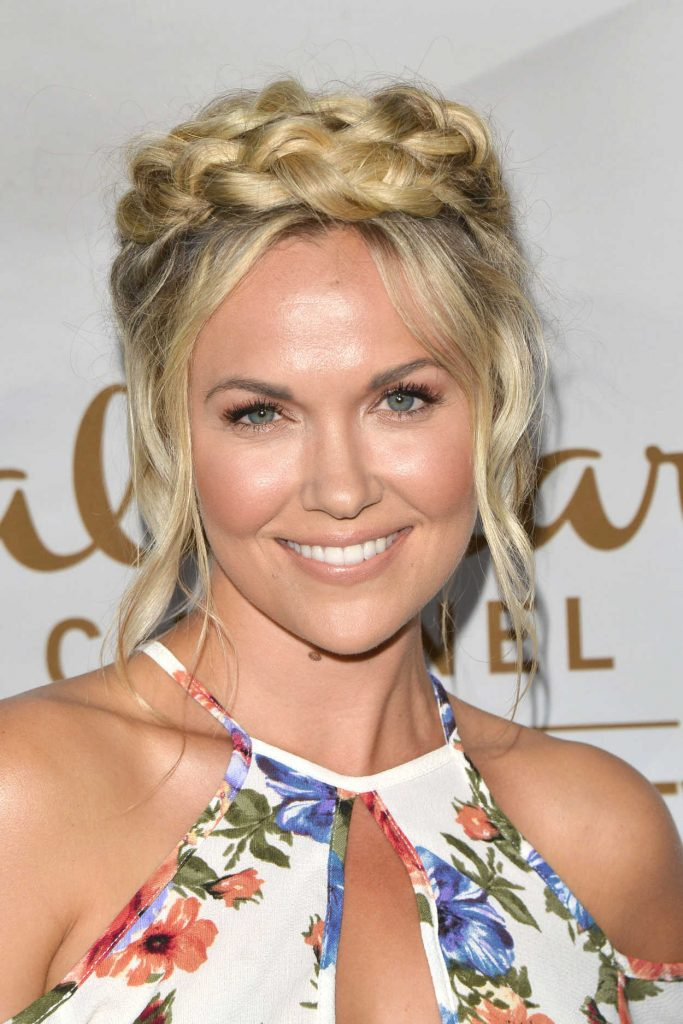 Emilie Ullerup at Hallmark Evening Event During the TCA Summer Press Tour in Los Angeles 07/27/2017-5