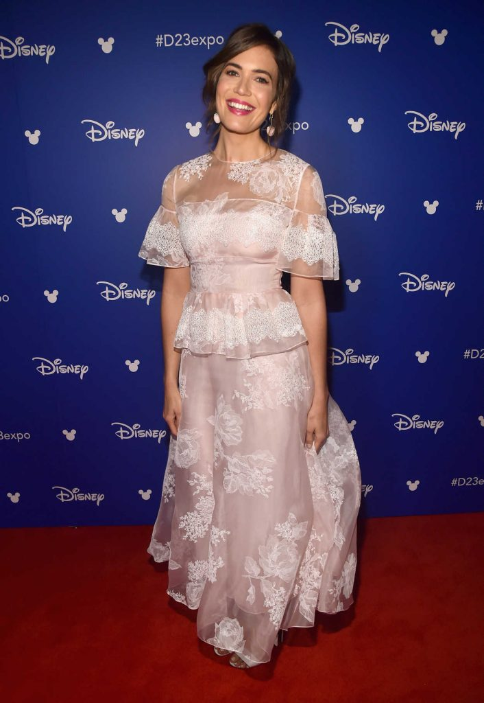 Mandy Moore at the 2017 Disney D23 Expo in Anaheim 07/15/2017-2