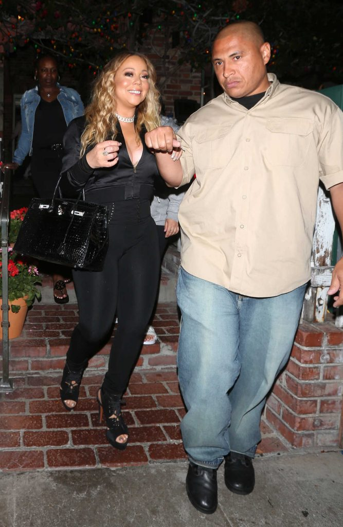 Mariah Carey Leaves The IVY Restaurant on Robertson Blvd in West Hollywood 07/29/2017-1