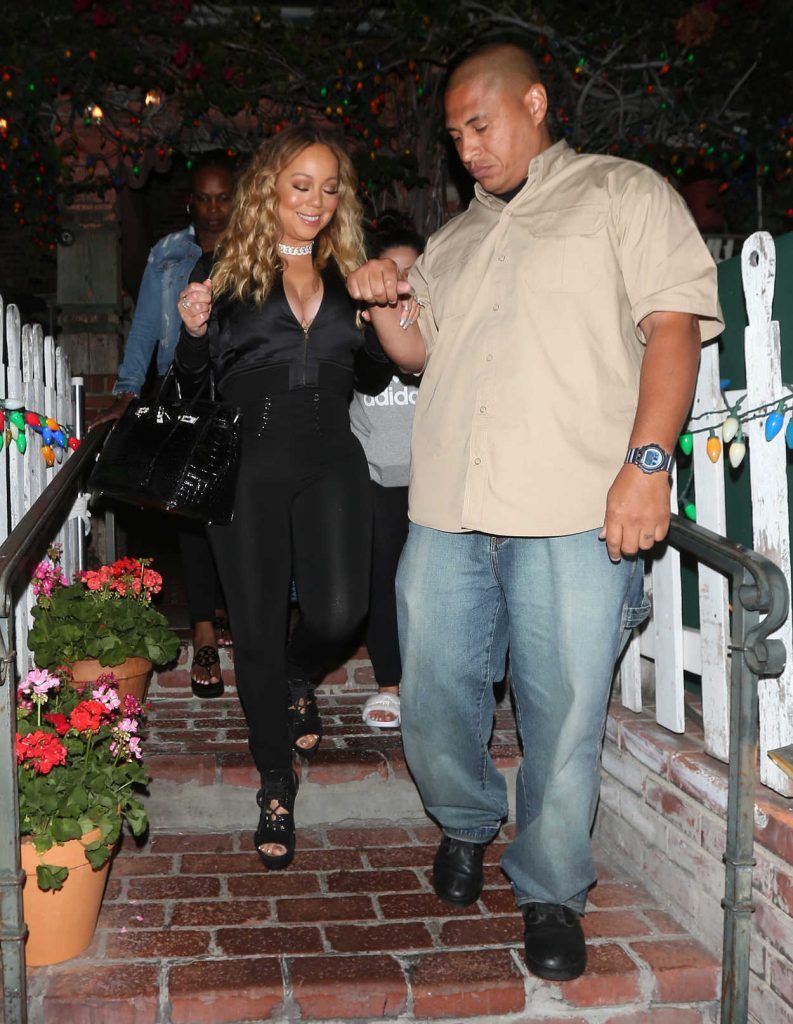 Mariah Carey Leaves The IVY Restaurant on Robertson Blvd in West Hollywood 07/29/2017-3
