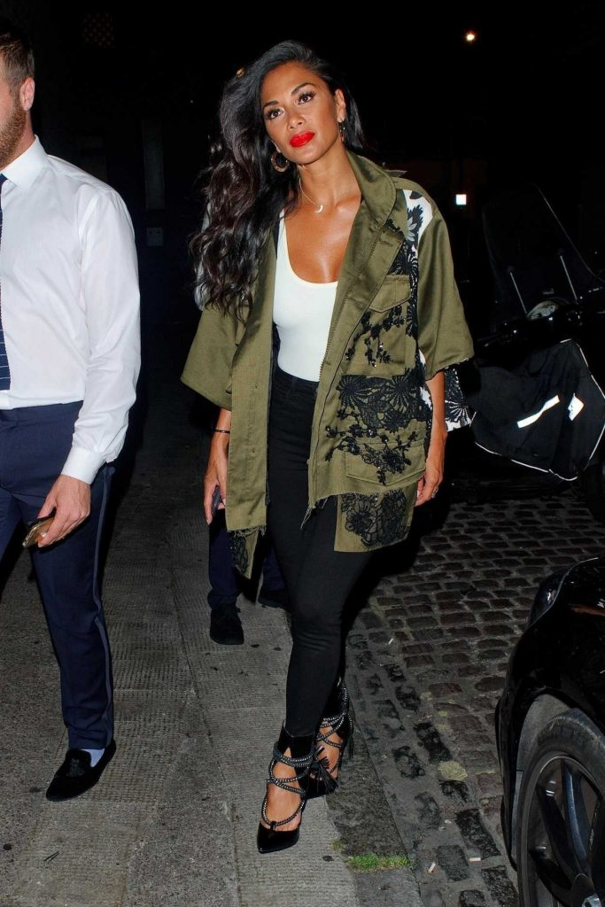 Nicole Scherzinger Arrives at the Chiltern Firehouse in London 07/06/2017-1