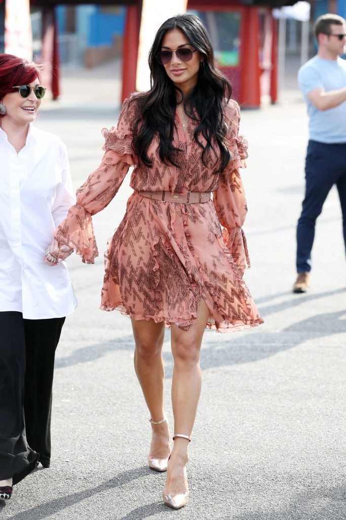 Nicole Scherzinger Arrives at The X Factor Auditions in Surrey 07/09/2017-1