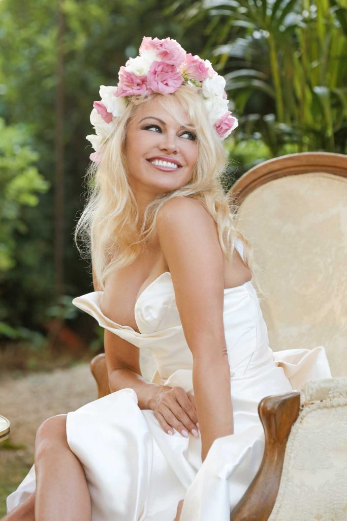 Pamela Anderson at the Her Vegan Restaurant La Table du Marche by Pamela Opening in Ramatuelle 07/04/2017-4