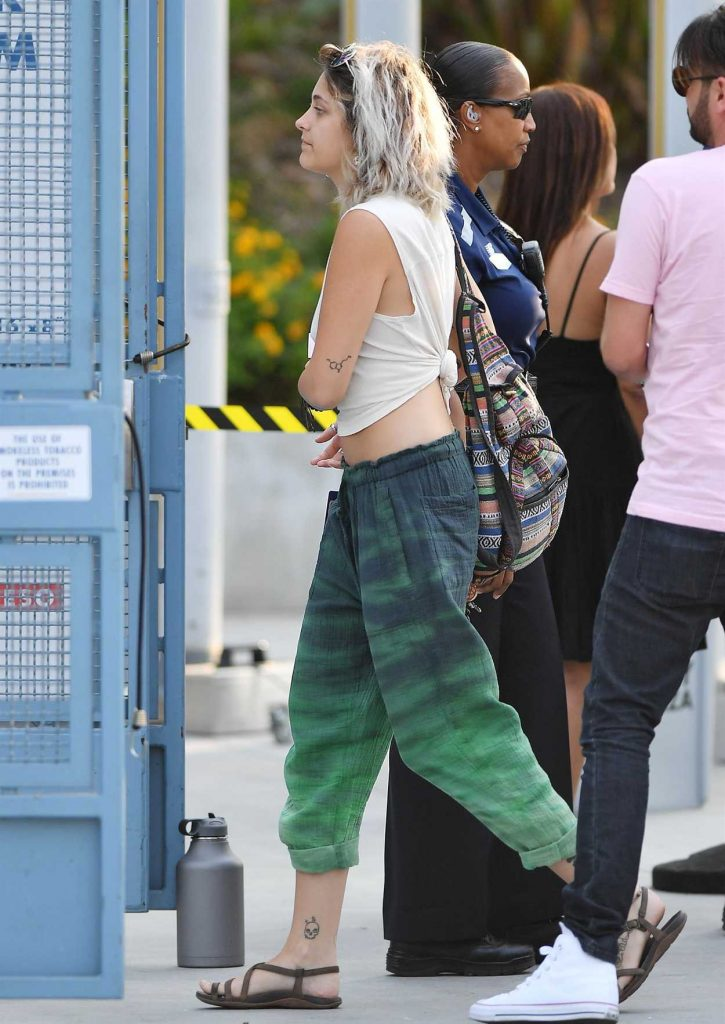 Paris Jackson Heads to an Eagles Concert at Dodgers Stadium in Los Angeles 07/15/2017-3