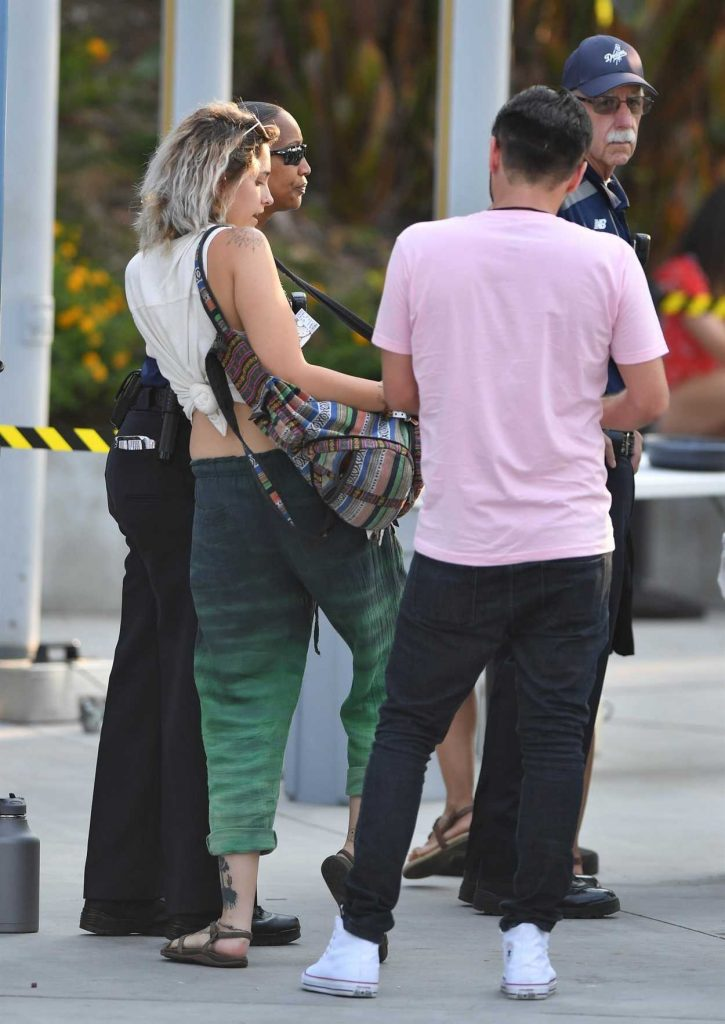 Paris Jackson Heads to an Eagles Concert at Dodgers Stadium in Los Angeles 07/15/2017-5