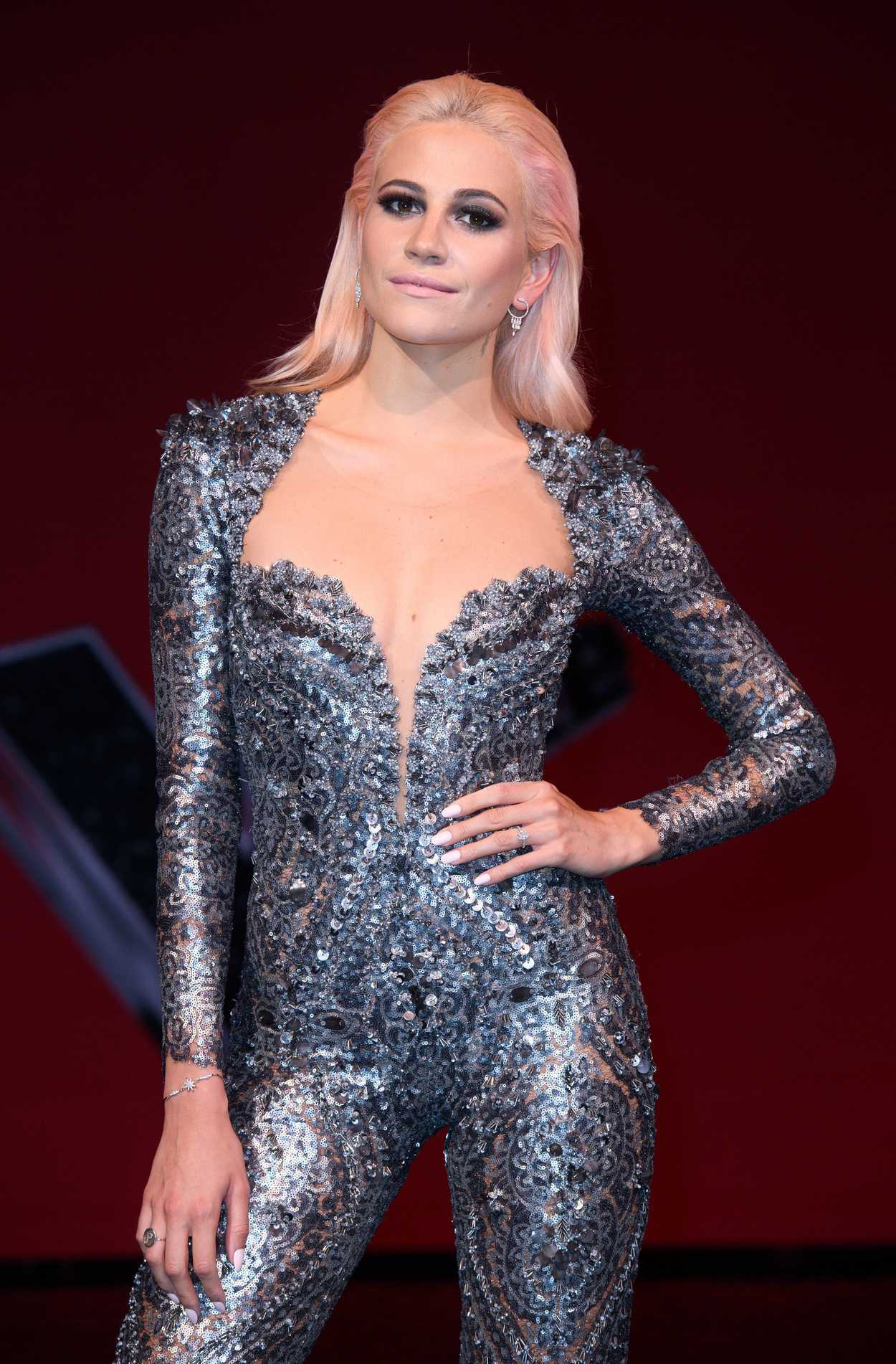 Pixie Lott at The Voice Kids Final Photocall in London 07