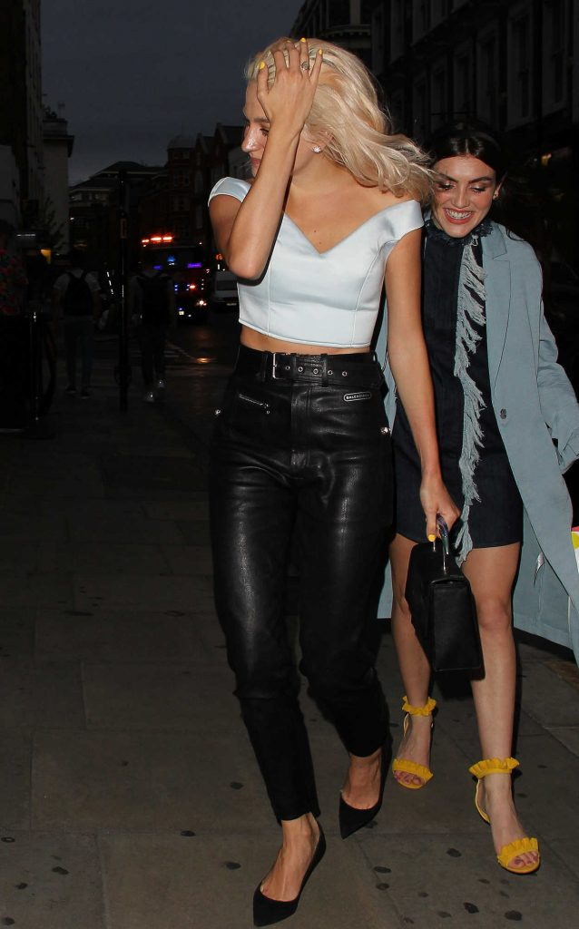 Pixie Lott Night Out in London Covent Garden 07/29/2017-3