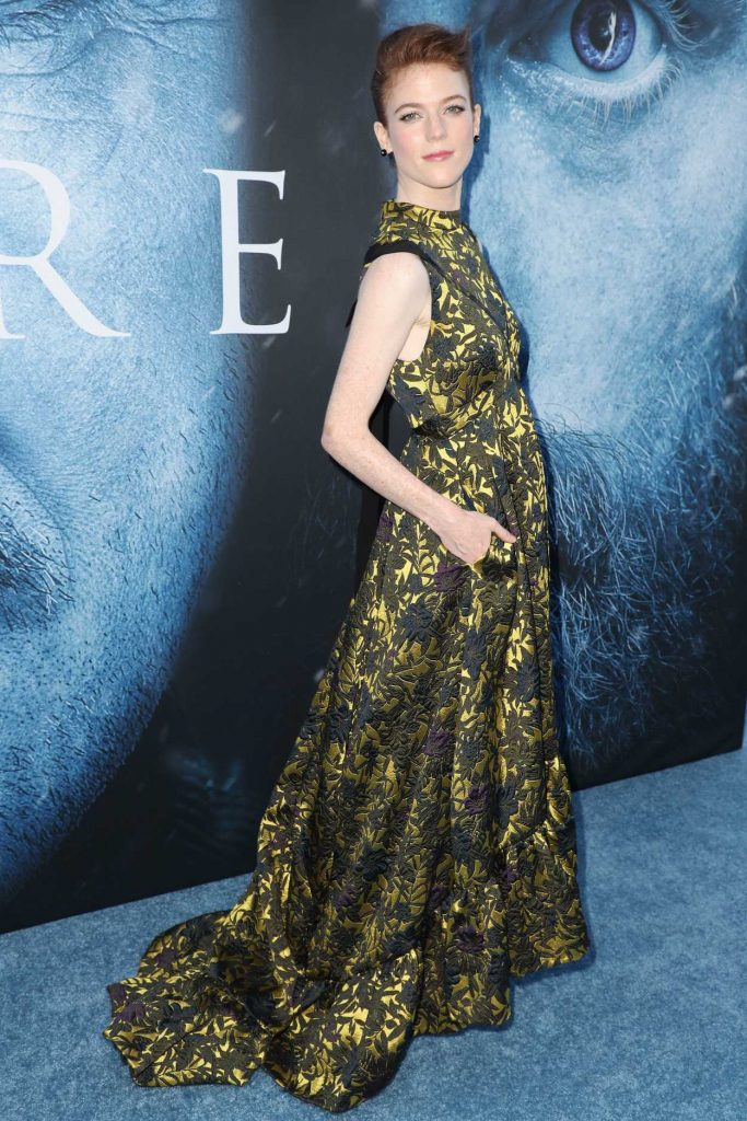 Rose Leslie at the Game of Thrones Season 7 Premiere in Los Angeles 07/12/2017-4