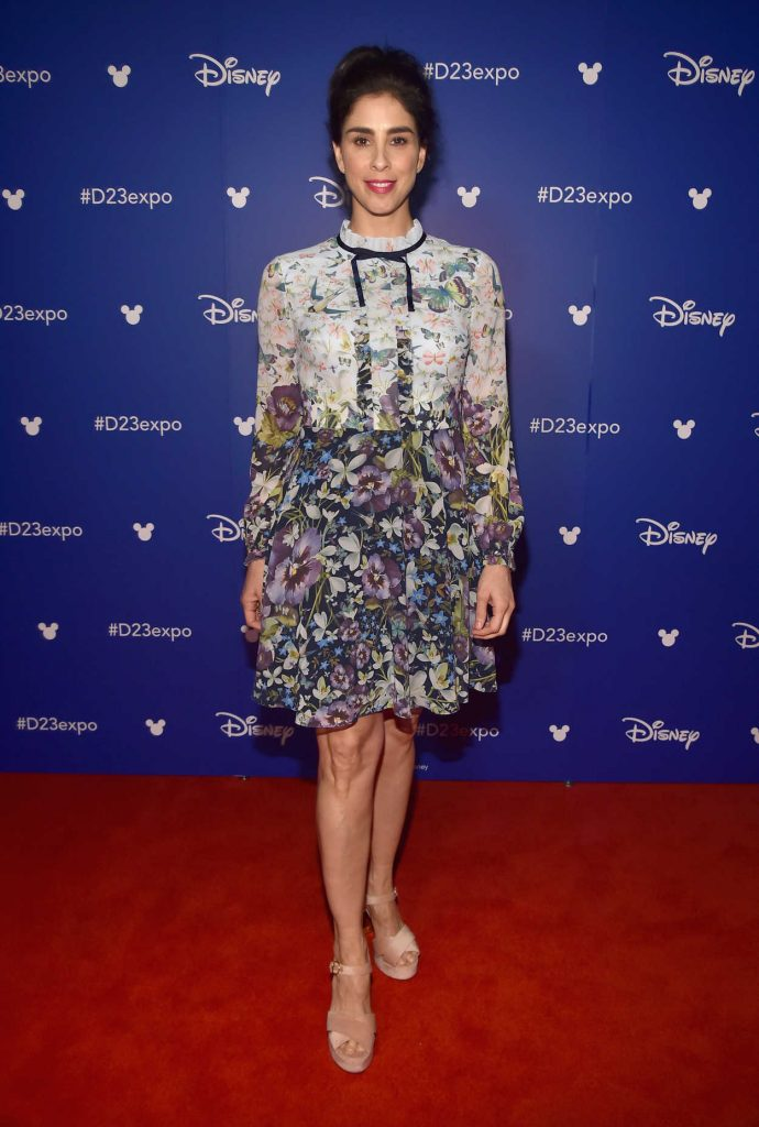 Sarah Silverman at the 2017 Disney D23 Expo in Anaheim 07/15/2017-1