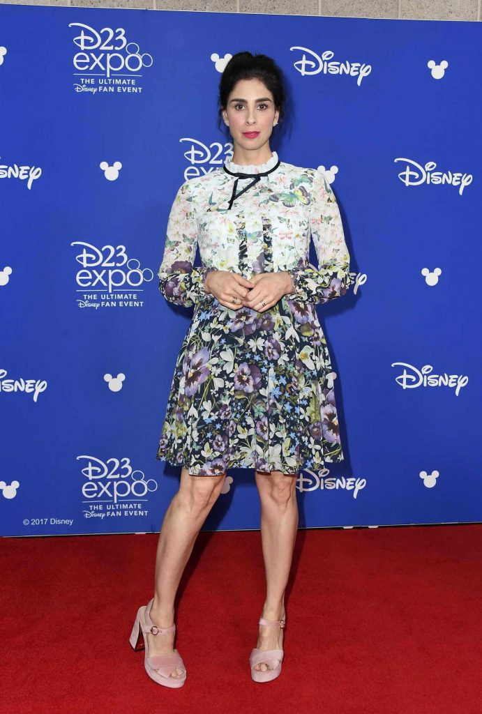 Sarah Silverman at the 2017 Disney D23 Expo in Anaheim 07/15/2017-2