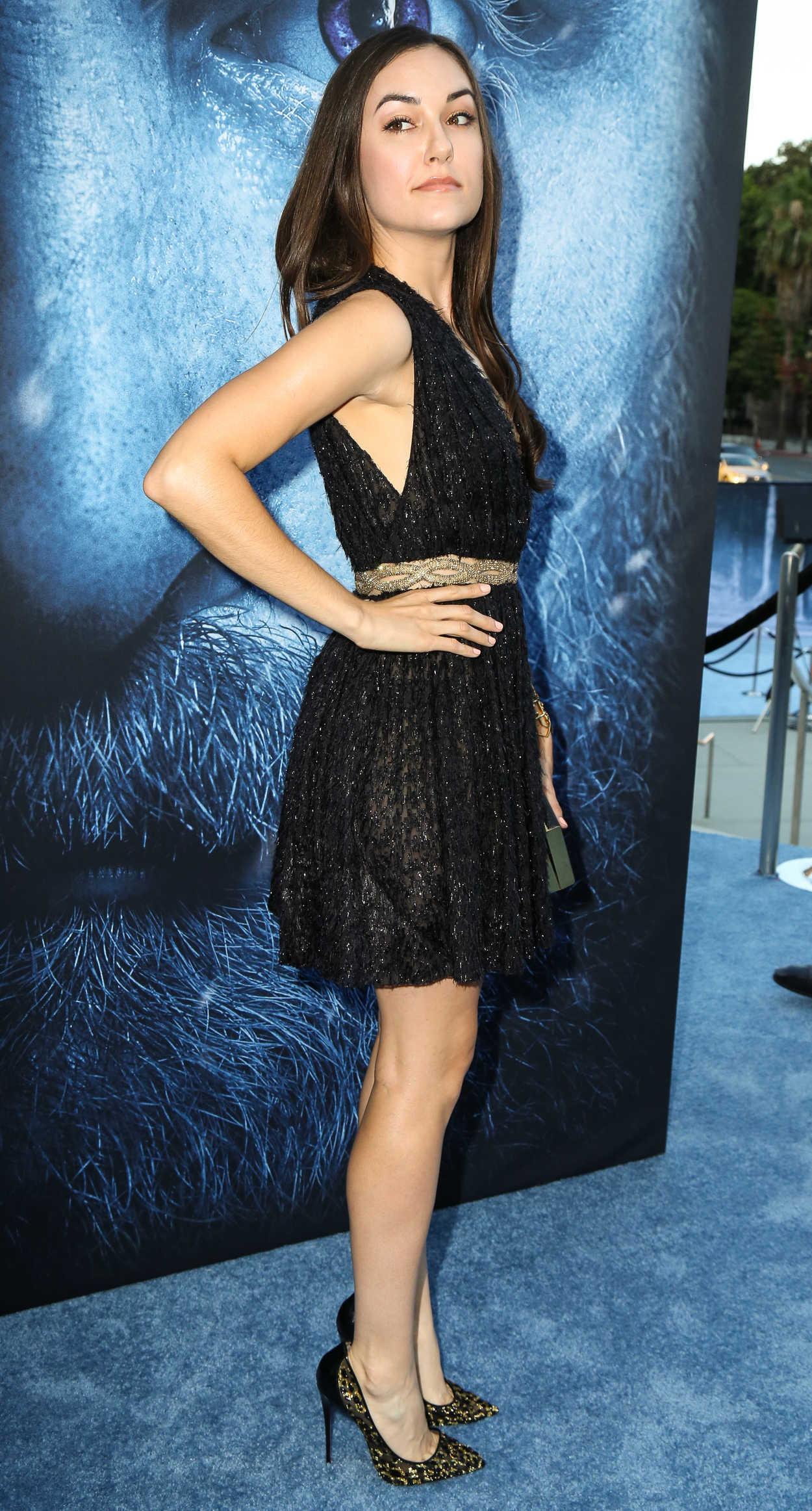 Sasha Grey at the Game of Thrones Season 7 Premiere in Los