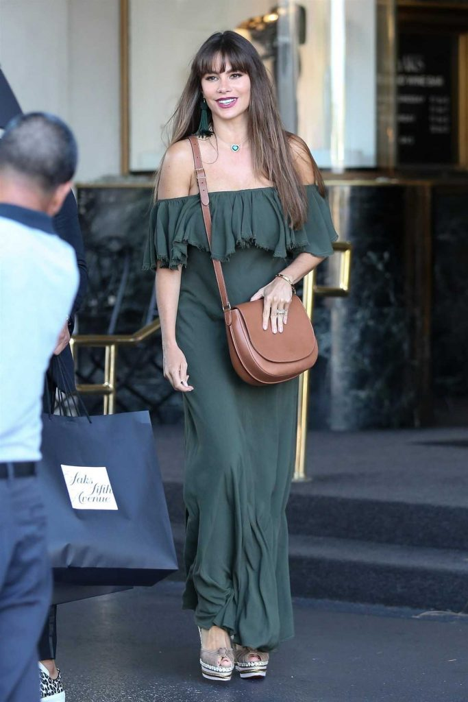 Sofia Vergara Out Shopping in Beverly Hills 07/12/2017-1
