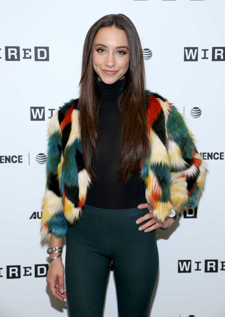 Stella Maeve at Wired Cafe During the San Diego Comic-Con International 07/21/2017-1