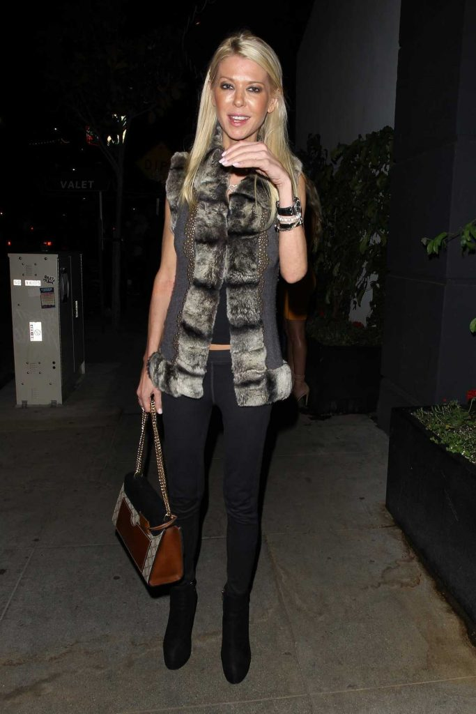 Tara Reid Wraps up a Night at Beauty and Essex in Hollywood 07/12/2017-2