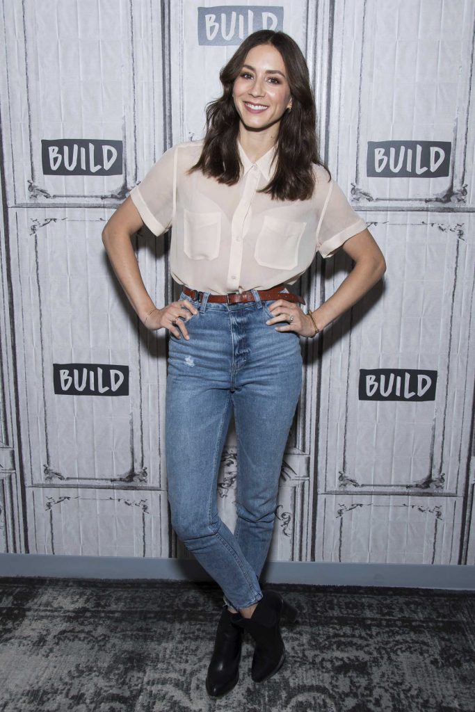 Troian Bellisario at Build Presents Troian Bellisario in New York 07/21/2017-1