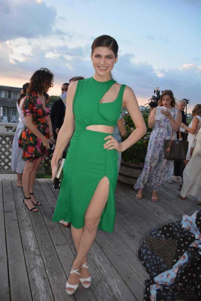 Alexandra Daddario at Women's Health 6th Annual Party Under the Stars in Bridgehampton 08/06/2017-1