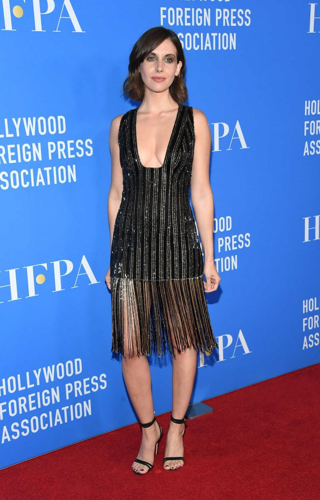 Alison Brie at Hollywood Foreign Press Association's Grants Banquet in Beverly Hills 08/02/2017-1