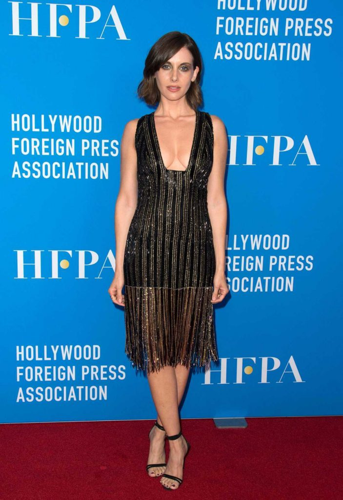 Alison Brie at Hollywood Foreign Press Association's Grants Banquet in Beverly Hills 08/02/2017-2