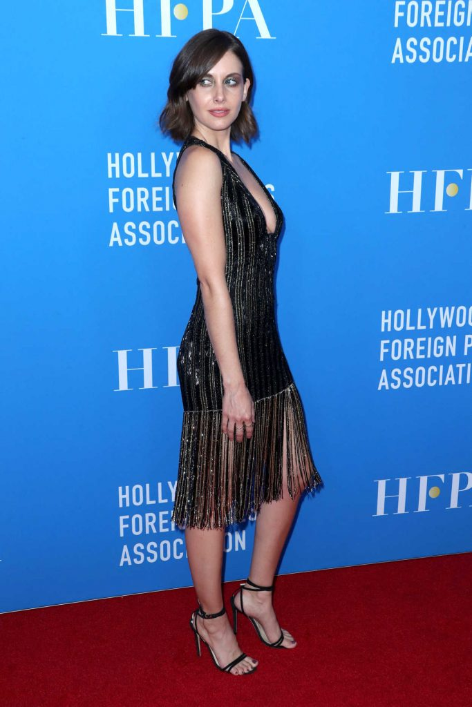Alison Brie at Hollywood Foreign Press Association's Grants Banquet in Beverly Hills 08/02/2017-4
