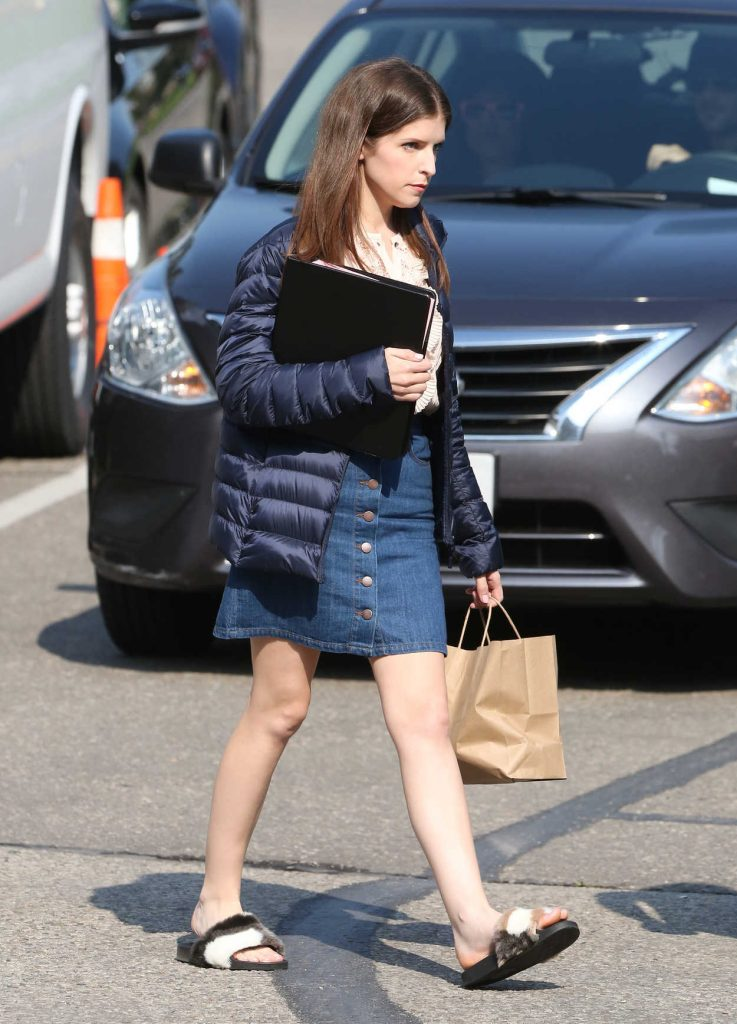 Anna Kendrick on the Set of Her New Movie A Simple Favor in Toronto 08/16/2017-2