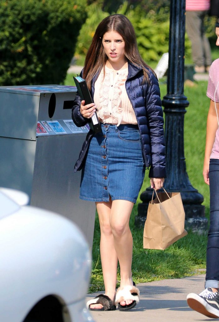 Anna Kendrick on the Set of Her New Movie A Simple Favor in Toronto 08/16/2017-3