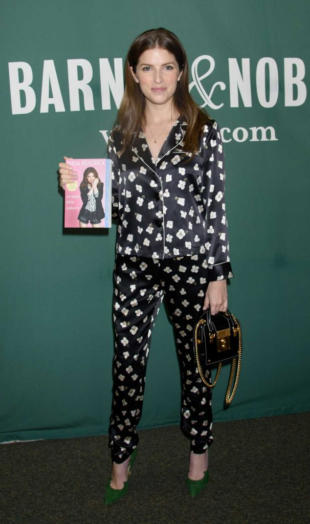 Anna Kendrick Promotes Her New Book Scrapy Little Nobody in New York City 08/19/2017-1