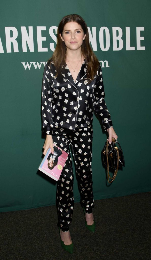 Anna Kendrick Promotes Her New Book Scrapy Little Nobody in New York City 08/19/2017-3