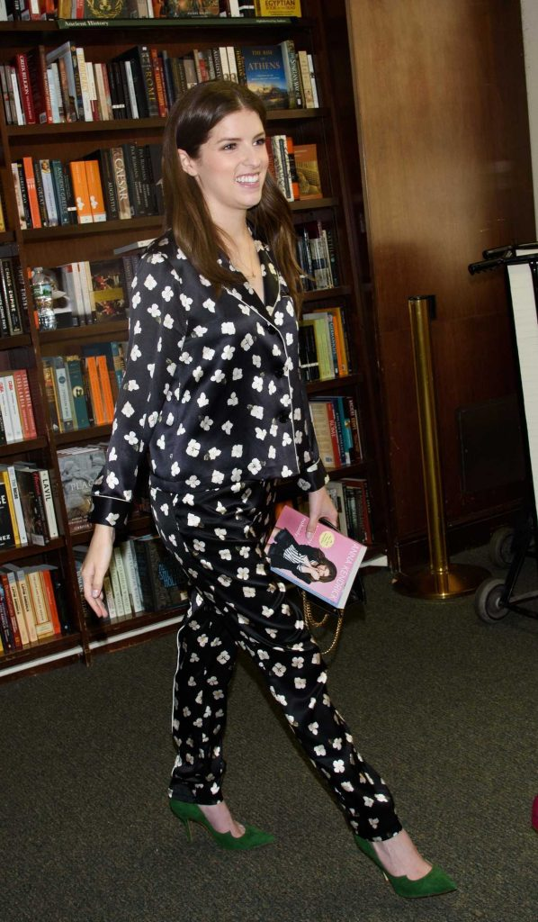 Anna Kendrick Promotes Her New Book Scrapy Little Nobody in New York City 08/19/2017-4