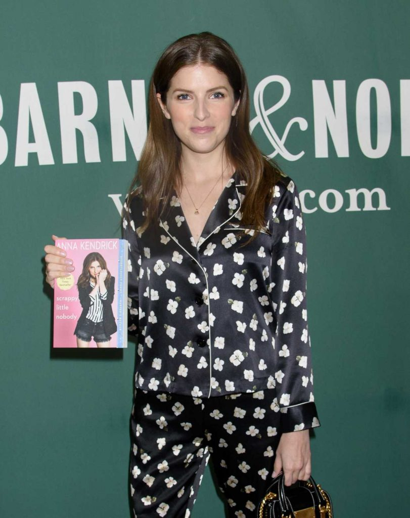 Anna Kendrick Promotes Her New Book Scrapy Little Nobody in New York City 08/19/2017-5